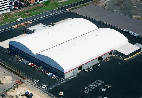 fabric roof