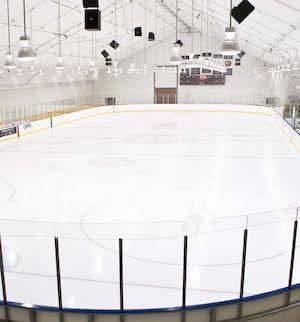 Edge School Interior Ice Arena