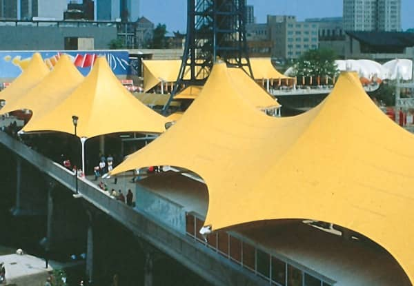 fabric roof structures
