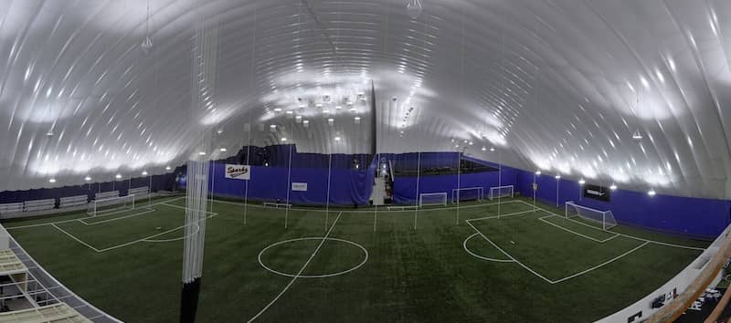 Air-Supported Sports Dome