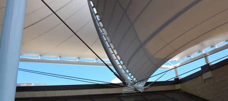 Shelter-Rite Architectural Fabrics Canopy at Seaman Corporation
