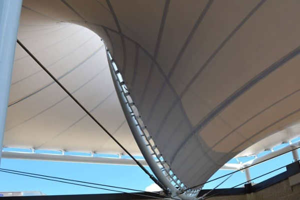 architectural fabric canopy