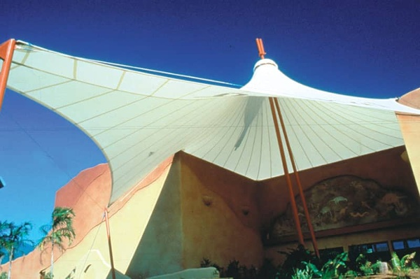 fabric architectural awning