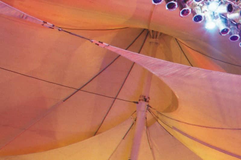 tension structure concert venue