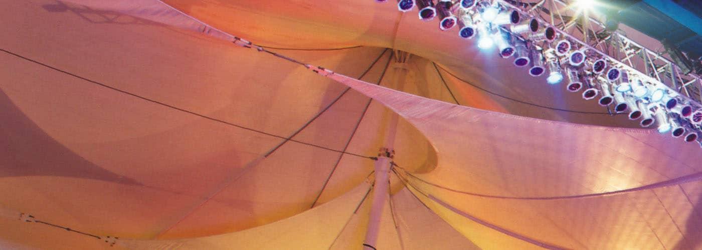 nautica pavilion tension fabric structure